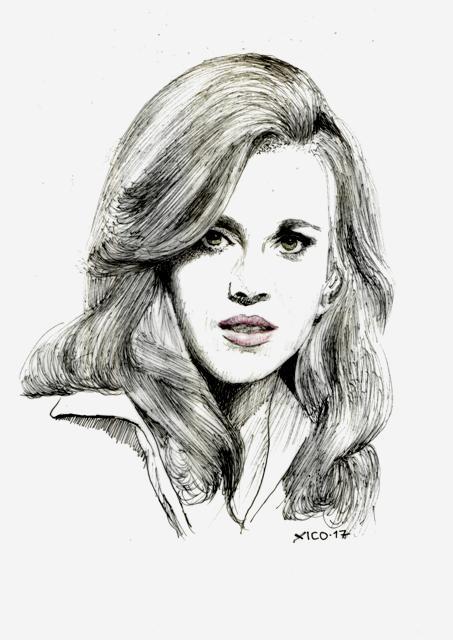 Jane Fonda by FCARLOS